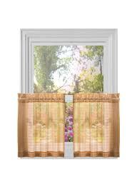 decor home furnishings amazon com achim home furnishings lexington tier pair 52 inch by