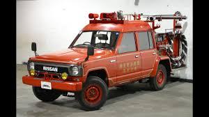 nissan safari 1990 nissan safari firetruck youtube