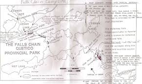 Banning State Park Map by Bwca Most Dangerous Spot In Quetico Boundary Waters Quetico Forum