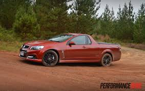 holden ssv 2015 holden ute vf ss v redline review video performancedrive