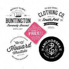 10 sets of free retro vintage style badge templates mooxidesign com