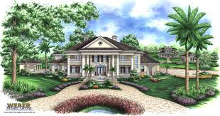charleston house plans southern style with columns wrap around
