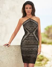 lipsy love michelle keegan geometric lace cami dress passion for