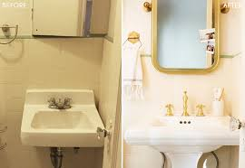 Bathroom Sink Makeover - brady gives a refresh to his vintage bathroom emily henderson