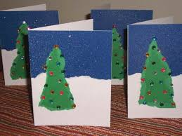 christmas card craft ne wall