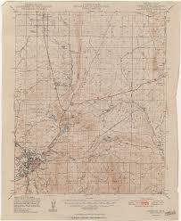 Winslow Arizona Map by