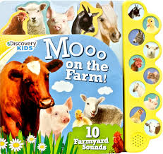 amazon com discovery kids moo on the farm discovery 10 button