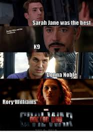 Rory Meme - sarah jane was the best doctor who and the tardis k9 jonna noble