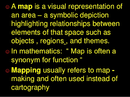 synonym for map mapping of knowledge in ddc arun joseph