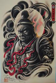 collection of 25 japanese warrior sketch