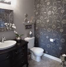 spa wood stone accent wall powder room designs 2016 square shape