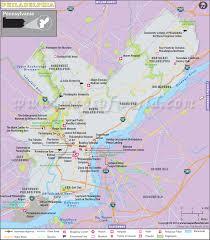 map of philly philadelphia map map of philadelphia city pennsylvania