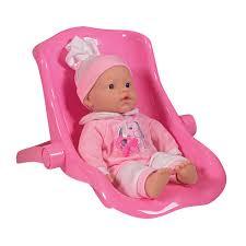 siege auto pour poupon poupon 37 cm avec siège auto superstar king jouet poupées