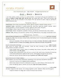 sample resume for bakery job sample resume of chef templates franklinfire co