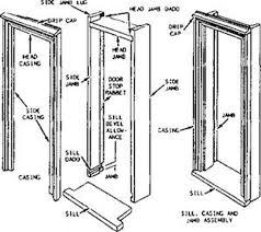 Exterior Door Jamb Framing Exterior Door Jamb Extensions 4 Endearing Portrayal Photo