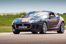 jaguar j type 2015 watch jaguar f type r coupé perform parachute test for bloodhound ssc