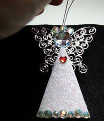 diy easy and gorgeous personalized angel ornaments youtube