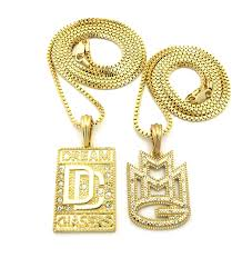 chains necklace images New dream chasers mmg music group pendant box chains necklace jpg