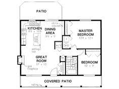 Small 2 Bedroom House Floor Plans Cottage Style Cool House Plan Id Chp 28554 Total Living Area