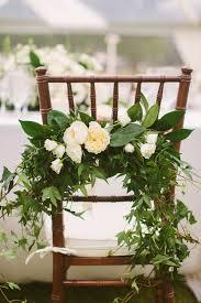 greenery garland greenery chair garland elizabeth designs the wedding