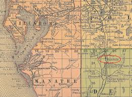 Map Of Lake County Florida by Desoto County The Florida Memory Blog