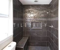 bathroom install metallic iron porcelain tile tiledaily