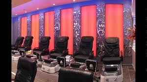 luxury nail salon interior design youtube