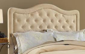 hillsdale trieste tufted upholstered headboard buckwheat