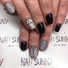 nails with lines the best images bestartnails com