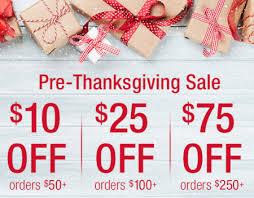vista ridge mall pre thanksgiving sale brookstone