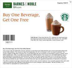 Barnes And Noble Coupns Free Drink Starbucks Coupon Hair Coloring Coupons