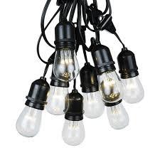 Edison Bulb Patio String Lights by Vintage String Lights Novelty Lights Inc