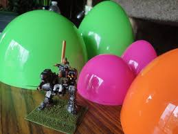 large plastic easter eggs armored ink domes domes domes
