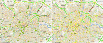 map pattern now delivers traffic pattern estimates on roads