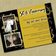 invitation for wedding anniversary invitation letter for wedding