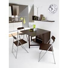Drop Leaf Dining Table With Folding Chairs Orange Dining Chairs Room Waplag Cool Spazio White Folding Console
