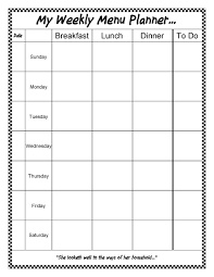 weekly family meal planner template a gift for you an editable weekly menu planner sheri graham my weekly menu planner with new borders free download