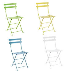Metal Folding Bistro Chairs Design On Sale Daily Colorful Bistro Chairs Spray Painting