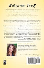 writing for bliss a seven step plan for telling your story and