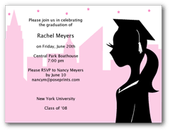 graduation party invitations personalized graduation party invitations