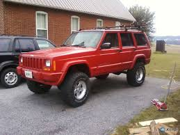 lifted jeep cherokee installing 4 5