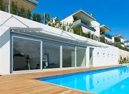terrasse en bois suspendue auvent pour terrasse en aluminium en toile professionnel