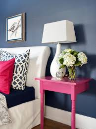 Small Nightstand Table 9 Nightstand Alternatives For Small Bedrooms Hgtv U0027s Decorating