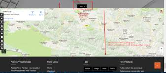 Google Map Customizer Javascript Section Toggle Hide And Show In Wordpress Stack