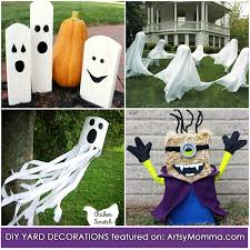Diy Halloween Yard Decorations Easy Diy Halloween Decorations Adults Can Make That Are Kid Friendly