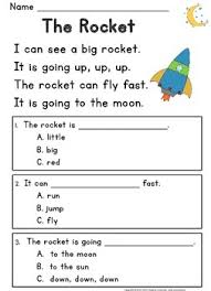 kindergarten reading passage reading comprehension passages questions guided reading level c