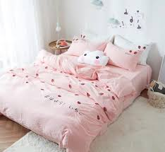 girls pink bedding sets girls lace bowtie ruffled bedding girls bedding sets