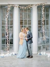 wedding arch garland 30 winter wedding arches and altars to get inspired weddingomania
