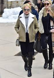 winter celebrity fashion 25 celebrities braving the cold stylishly