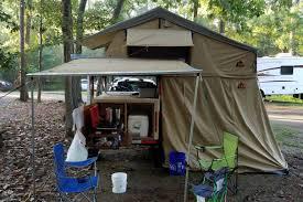 Camping Kitchen Setup Ideas by Here Is Ryan U0027s Super Sized Diy Explorer Box Camping Trailer Setup